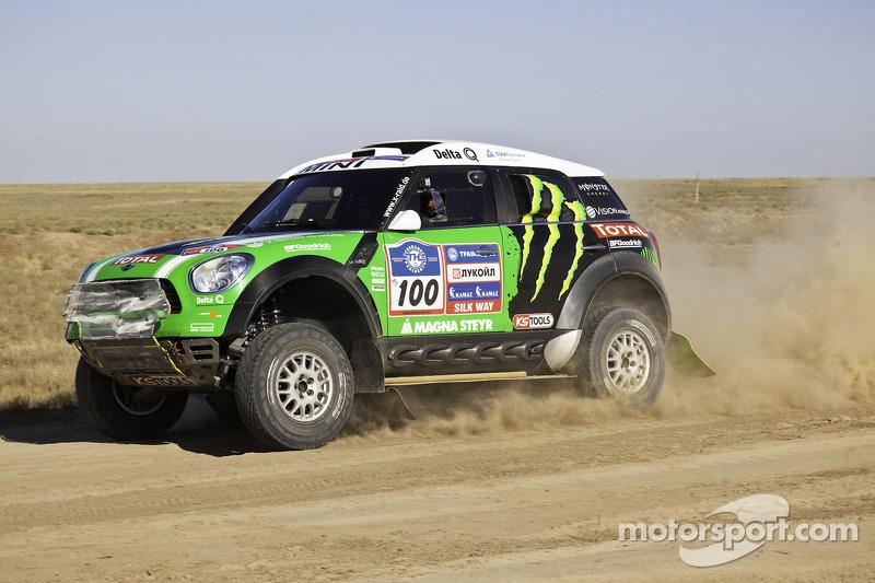 Stéphane Peterhansel and Jean-Paul Cottret, Monster Energy X-Raid Team