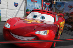 Lightning Mc Queen Character from the Movie Cars 2