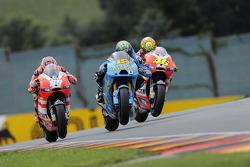 Alvaro Bautista, Rizla Suzuki MotoGP, Nicky Hayden, Ducati Team, Valentino Rossi, Ducati Team