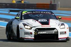 #20 Sumo Power GT Nissan GT-R: Enrique Bernoldi, Nick Catsburg