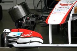 Sauber F1 Team, Technical detail, front suspension