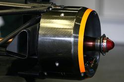 Team Lotus, Technical detail rear suspension