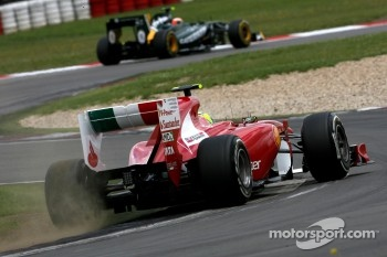 Felipe Massa landed fifth position for Ferrari