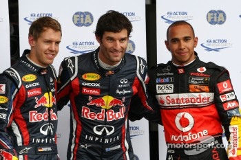 Pole position for Mark Webber at the Nurburgring