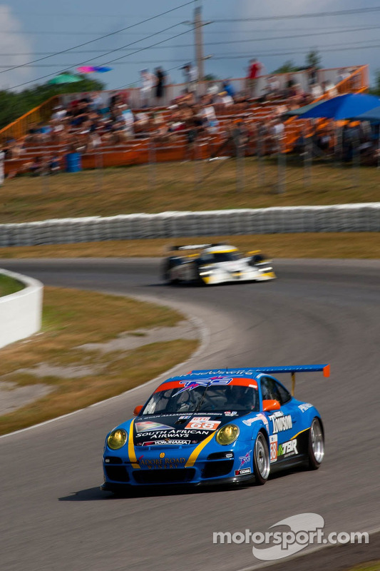 #68 TRG Porsche 911 GT3 Cup: Dion von Moltke, Mark Bunting