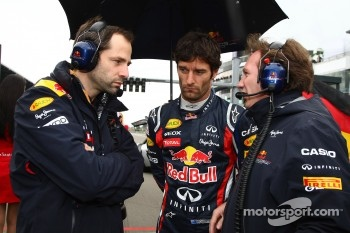 Mark Webber, Red Bull Racing with Christian Horner, Red Bull Racing, Sporting Director