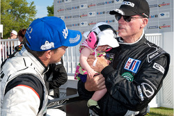 Klaus Graf, Rob Dyson and his granddaughter Leona