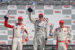 Stefan Wilson, Andretti Autosport, Josef Newgarden, Sam Schmidt Motorsports and Peter Dempsey, Andretti Autosport