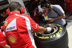 Pirelli tyres, Scuderia Ferrari