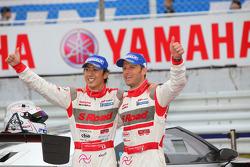 GT500 Winner: #46 S Road Mola GT-R: Masataka Yanagida, Ronnie Quintarelli