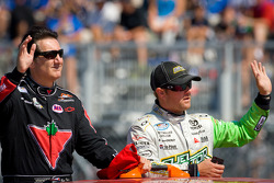 Ron Fellows, Hendrick Motorsport Chevrolet and Jason Bowles, Toyota