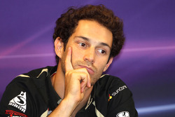 Press conference: Bruno Senna, Renault F1 Team