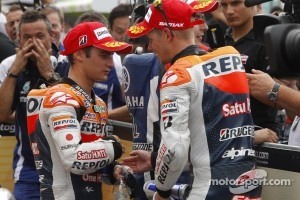 Dani Pedrosa and Casey Stoner, Repsol Honda Team