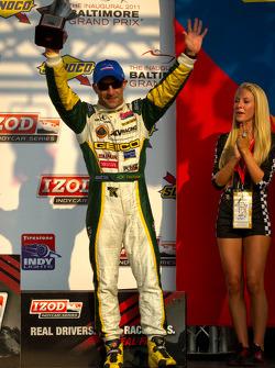 Podium: third place Tony Kanaan, KV Racing Technology-Lotus