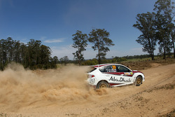 Bader Al Jabri and Stephen McAuley, Subaru Impreza WRX, Team Abu Dhabi