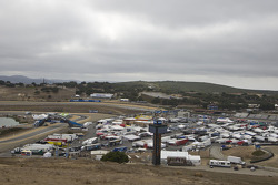 ALMS paddock for 2011 ModSpace American Le Mans Monterey presented by Patrón