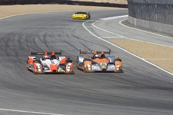 #05 Core Autosport Oreca FLM09: Jon Bennett, Frankie Montecalvo, Andy Wallace, #89 Intersport Racing Oreca FLM09: Kyle Marcelli, Chapman Ducote, David Ducote