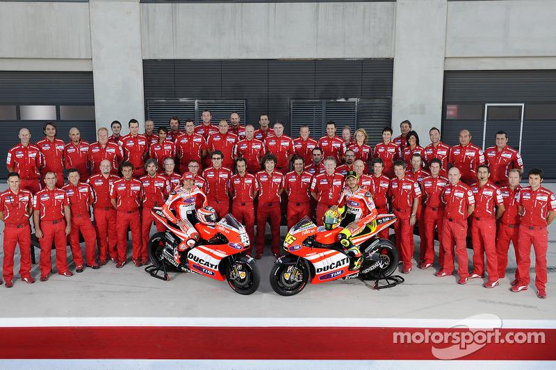 Ducati, 2011: Valentino Rossi e Nicky Hayden