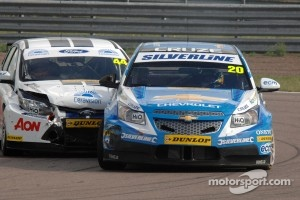 Alex MacDowall, Silverline Chevrolet and Andy Neate, Team Aon