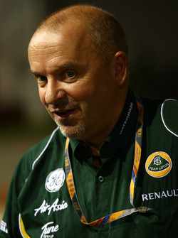Mike Gascoyne, Team Lotus, Chief Technical Officer