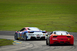 #22 Ferrari of Ft. Lauderdale Ferrari 458 Challenge: Enzo Potolicchio, #27 Ferrari of Houston Ferrari 458 Challenge: Mark McKenzie