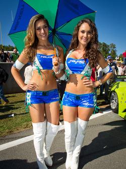 The charming Falken Tires girls