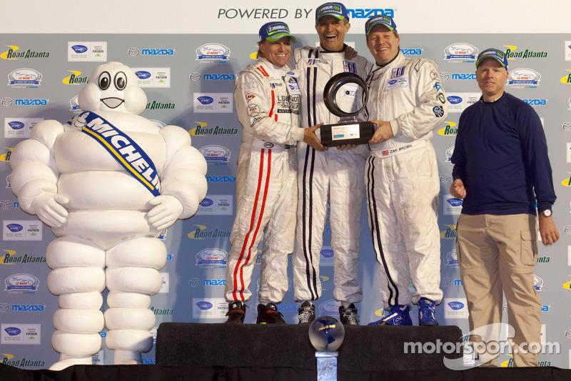 Michelin Green X Challenge: Prototype winners #22 United Autosports Oak Pescarolo Judd: Zak Brown, Stefan Johansson, Mark Patterson