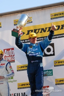 Round 26 Race Winner Jason Plato, Silverline Chevrolet