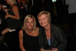 Jan Magnussen's mom Grete Boersting, and wife, Christina