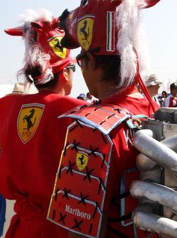 Fans of Scuderia Ferrari