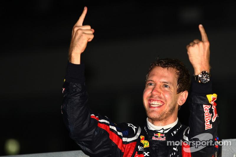 Sebastian Vettel, Red Bull Racing, campeón del mundo de F1 2010