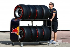 Tyre saving tactics are also on the agenda