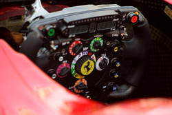 Scuderia Ferrari Technical detail steering wheels