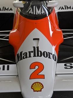 Porsche-powered Formula 1 car of Alain Prost
