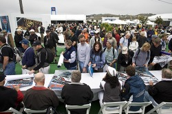Another of the six autograph sessions during the Porsche Rennsport Reunion IV