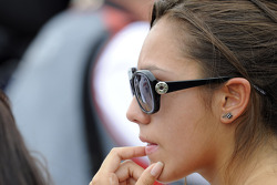 Marco Simoncelli's girlfriend reacts to the news of his passing