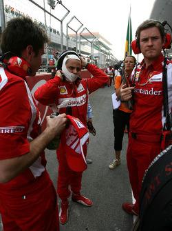 Felipe Massa, Scuderia Ferrari,  Chief Engineer of Felipe Massa (BRA)