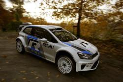 Polo R WRC testing