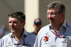 Nick Fry, Chief Executive Officer, Mercedes GP and Sir Richard Branson, Virgin Group CEO