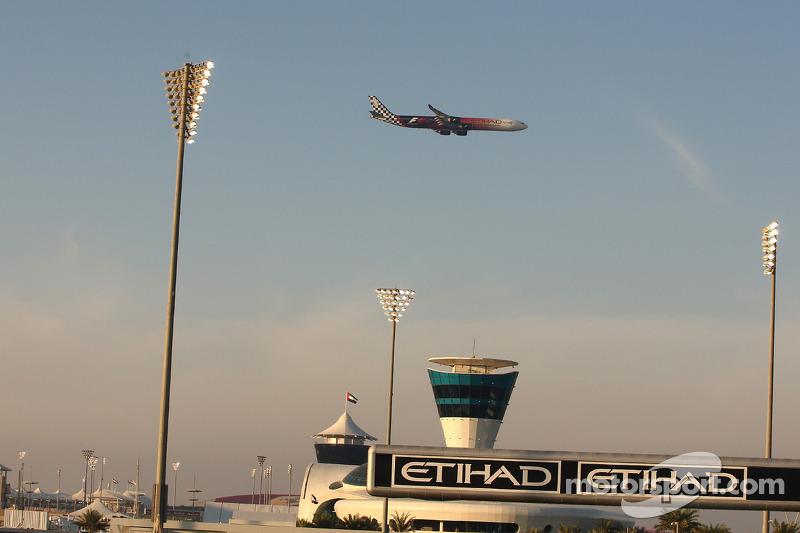 Pre-race air show