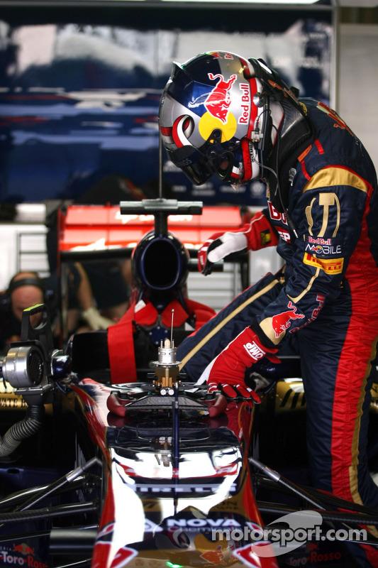 Stefano Coletti, Scuderia Toro Rosso
