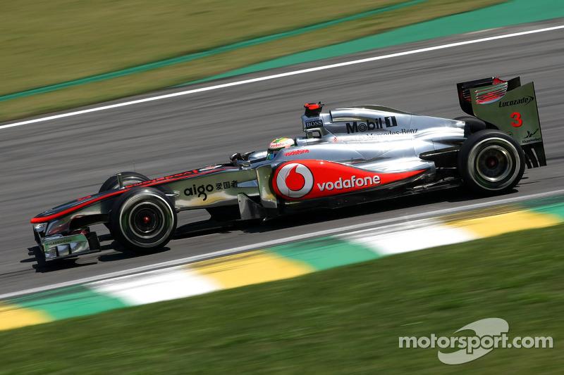 #9: McLaren-Mercedes MP4-26 von 2011