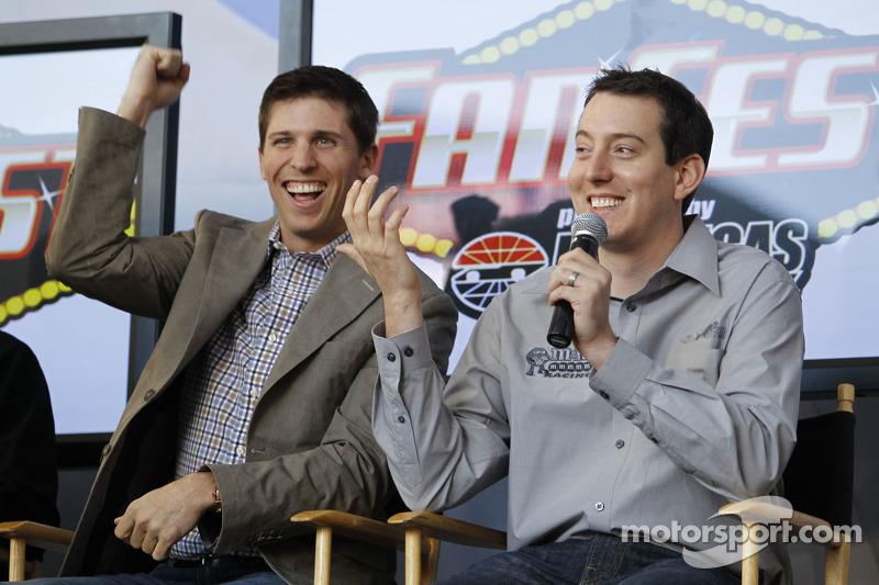 Denny Hamlin und Kyle Busch