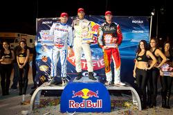 Podium: All Star winnaar Jan Heylen met 2de Jay Howard, 3de Ben Cooper