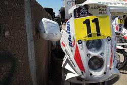 La moto de James Przygonski