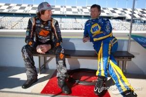 Travis Pastrana and Michael Waltrip
