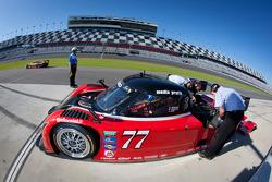 #77 Doran Racing Ford Dallara: Brian Frisselle, Burt Frisselle, Jim Lowe