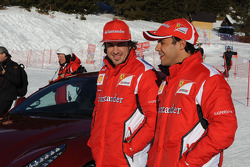 Fernando Alonso et Felipe Massa
