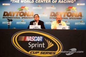 NASCAR press conference: NASCAR Vice President of Competition Robin Pemberton, NASCAR Sprint Cup Series Director John Darby