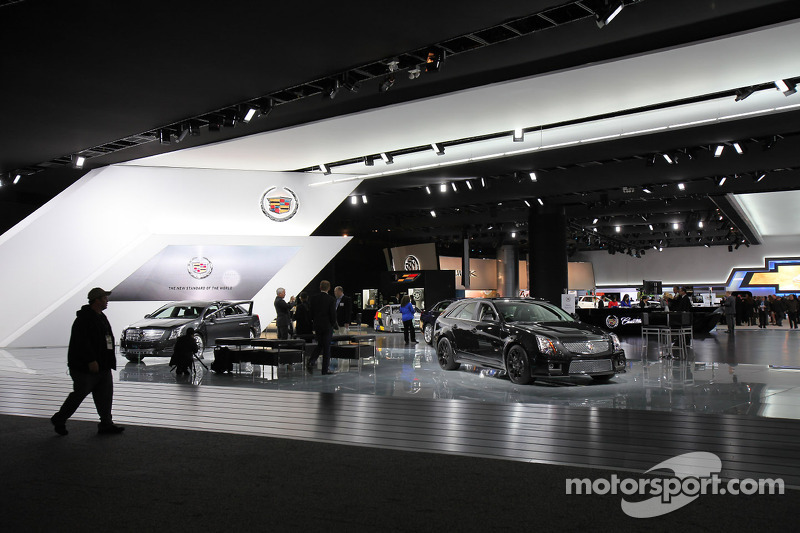 Cadillac Booth At North American International Auto Show Detroit - Car show booth